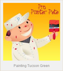 Painting Tucson Green