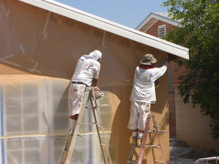 Tips to minimize tucson painting costs tucson painters - What temperature can you paint outside ...